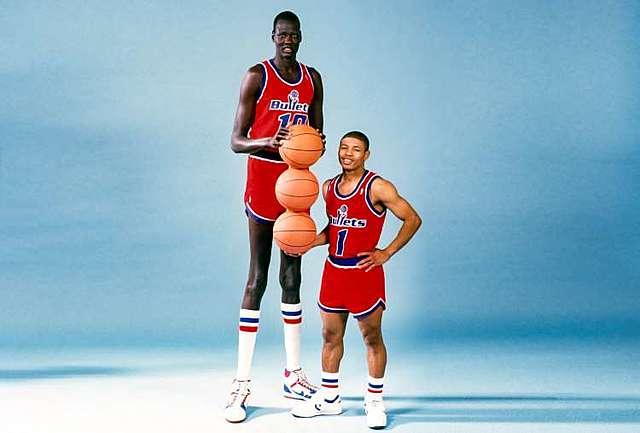 Tallest and shortest men