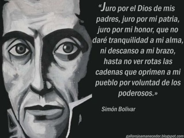 EL LIBERTADOR REDACTA UNA CONSTITUCIÓN PARA BOLIVIA