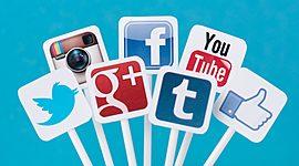 Evolucion de las Redes Sociales timeline