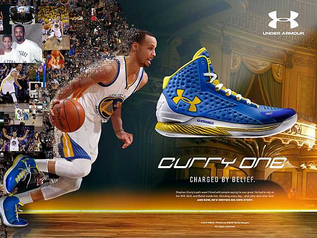 Steph signs with Underarmour