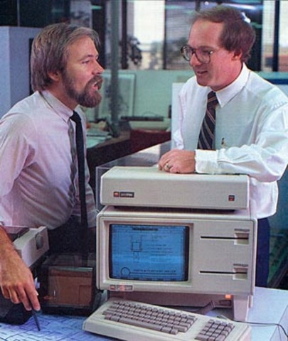 """Apple introduces the """"Lisa"""", the first personal computer with a graphical user interface"""