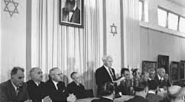 הרקע ההיסטורי להקמת מדינת ישראל timeline