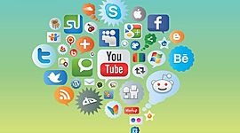 Evolución de las redes sociales digitales timeline
