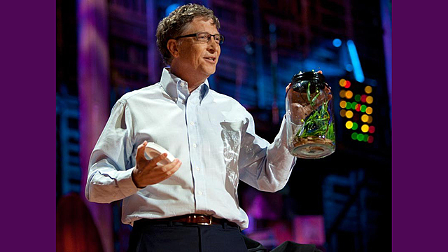 Bill Gates says vaccines are for population control.