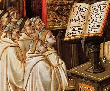 Canto Grogoriano o Canto llano (S V a XI)
