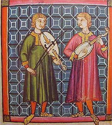 Juglares o Ministriles (Siglo XI-XII)