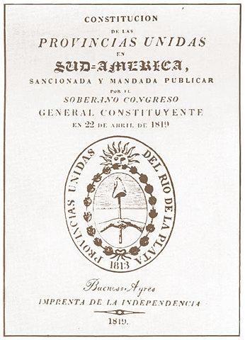 Constitución de 1819