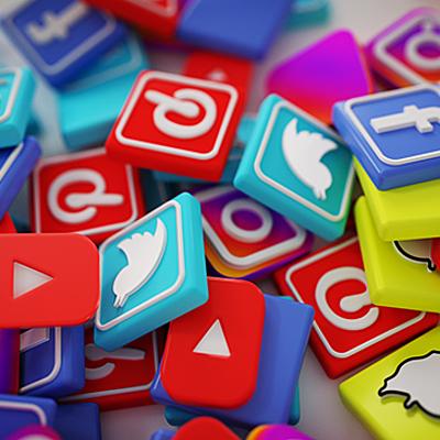 Evolución de las redes sociales. timeline