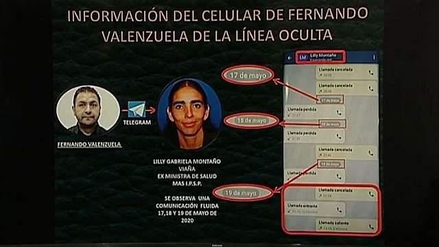 Caso respiradores: Gobierno denuncia que Valenzuela se contactó con Gabriela Montaño