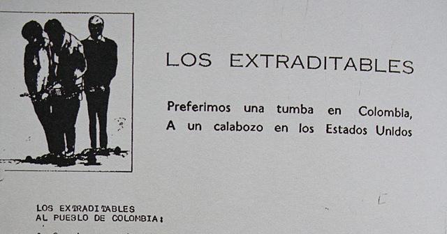LOS EXTRADITABLES