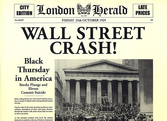 El Crack de Wall Street