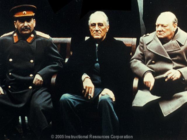 Allied Leaders Meeting