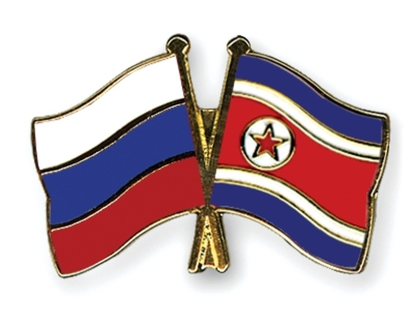 Russian arrive in North Korea