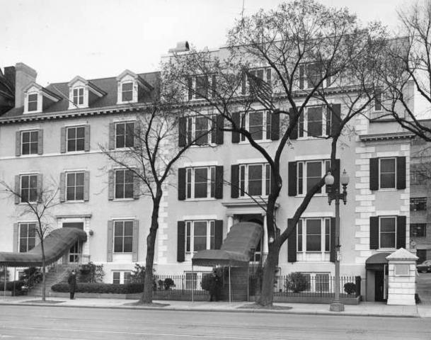 Truman Meets at Blair House