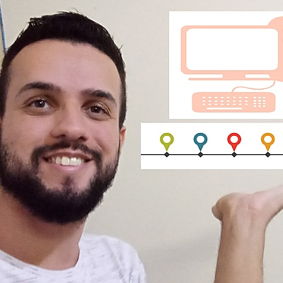 Principais acontecimentos sobre a História da Informática Educativa no Brasil timeline