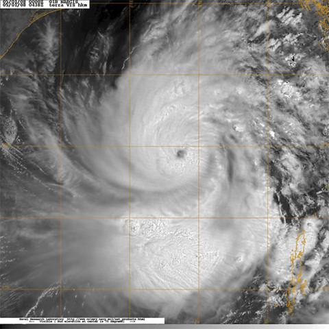 Cyclone in Burma