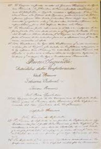 CONSTITUCION 1853