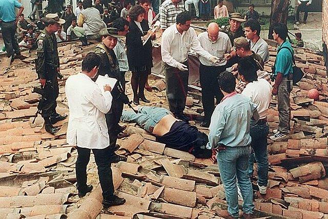 LA CAPTURA Y MUERTE DE PABLO ESCOBAR: