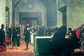 Inauguracion Congreso General Constituyente