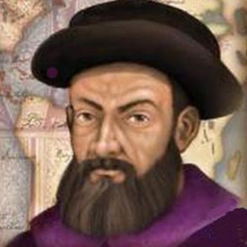 Ferdinand Magellan arrives