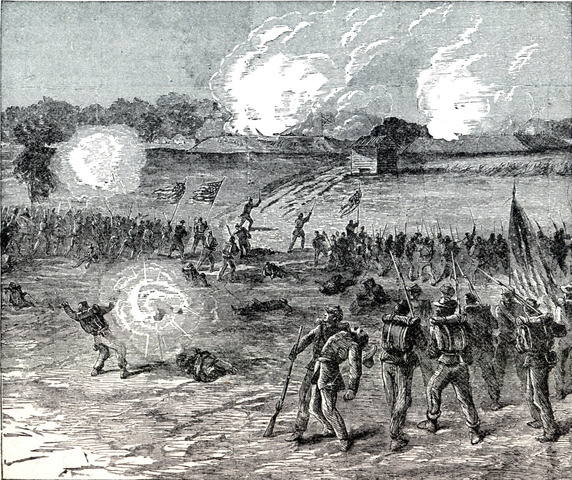 Battle at Petersburg
