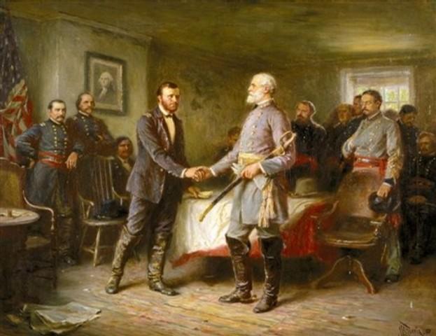 Surrender at Appomattox (Letters)