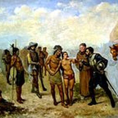 Fases de la conquista del territorio costarricense (1502-1573) Elaborada por: María José Ibarra Soto. timeline