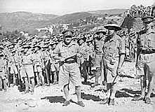 Switch from U.S Troops to Australian Troops