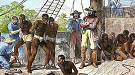 ESCLAVITUD EN AMÉRICA COLONIAL timeline