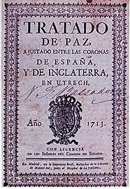 Tratado de Utrecht de 1713