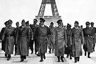 Nazi Forces Enter Paris