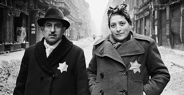 """Jews in France ordered to sew own clothes with a yellow star labeled """"Juif"""""""