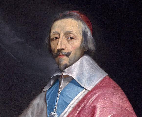 Richelieu nombrado Secretario de Estado en Francia.
