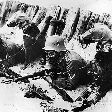 Gas mostaza. Batalla de Ypres
