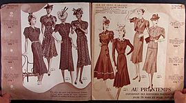 Paris in Fashion Timeline - Lilly Berg
