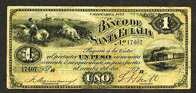Banco de Santa Eulalia.