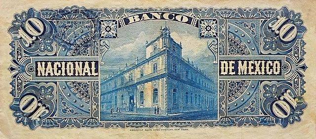 Banco Nacional Mexicano.