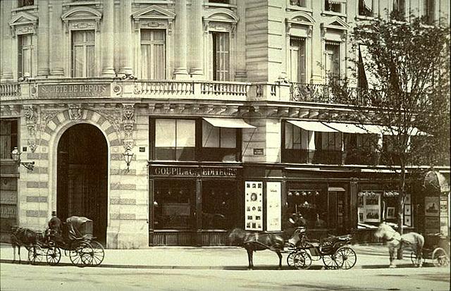 los Boussod y los Valadon se hacen cargo de la sede de Goupil y Cie en París