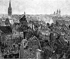 Alemanha bombardeia cidades de Paris