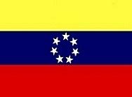 Bandera decretada por el General Cipriano Castro