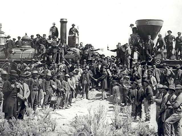 American Railroads Expand