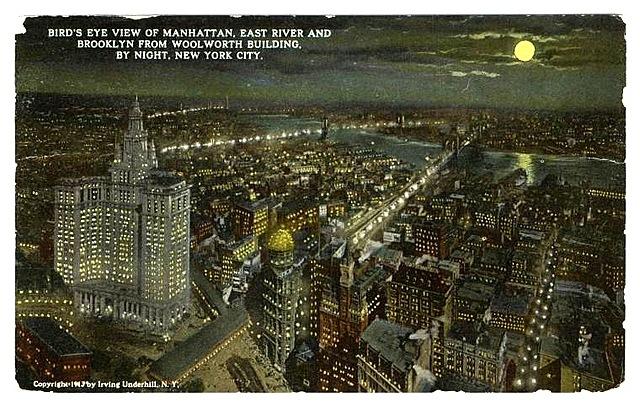 Electric Lighting in New York