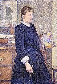 la señorita Anne Boch compra el único cuadro que Vincent