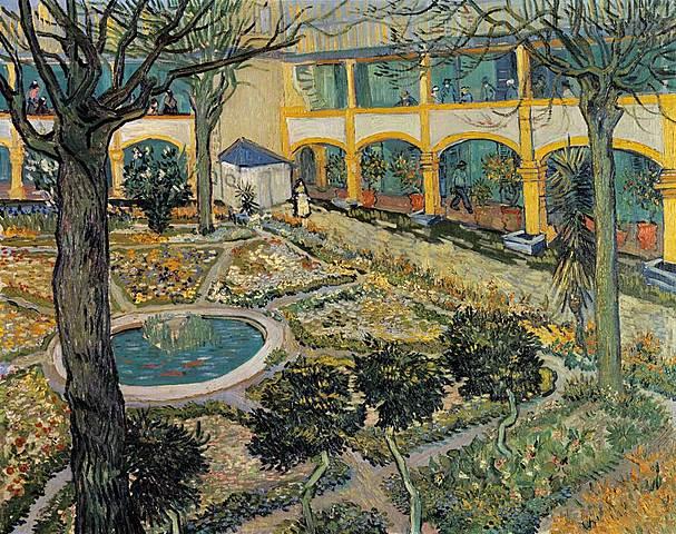 Vincent en el asilo