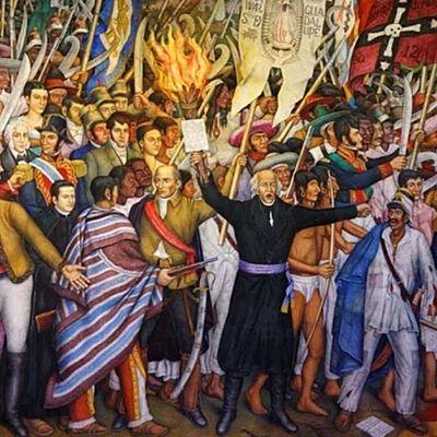 INDEPENDENCIA DE MEXICO 1810-1821. timeline