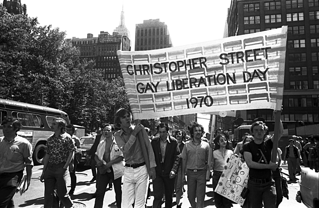 First Pride March on the anniversary of the Stonewall Riots