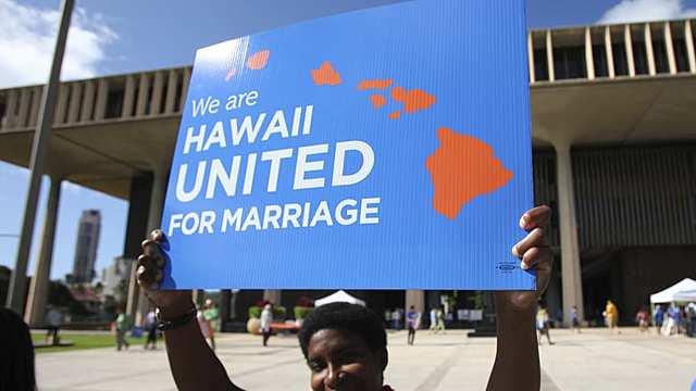 Hawaii declares gov't has no right to deny marriage licenses