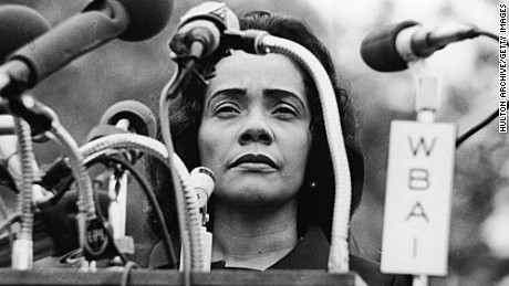 Coretta Scott King advocates for LGBT rights