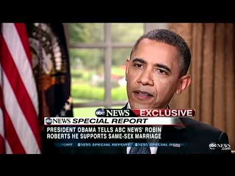 Obama becomes first president to support LGBT Rights