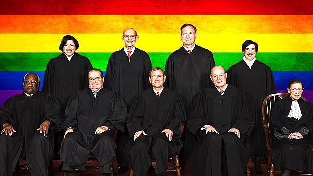 SCOTUS federally recognizes same sex marriage